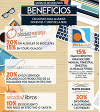 Beneficios estudiantes